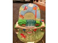 Baby rain forest bouncing chair