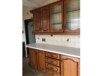 Kitchen Unit with oven good condition