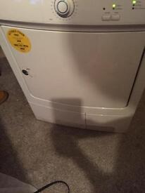 Tumble dryer can deliver