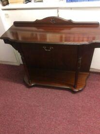 Solid dark wood cabinet - rossmore furniture