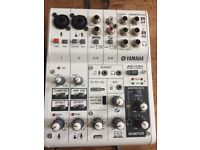Yamaha AG06 mixing console still in box never used