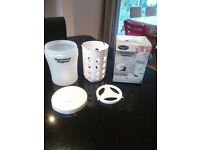Tommee Tippee Closer to Nature Selection - Single Steriliser/Milk Powder Dispensers/Bottle Warmer