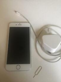 I PHONE 6 16GB WHITE/SILVER UNLOCKED ANY NETWORK