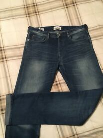 Stone Island jeans & Hugo Boss jumper