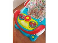 Baby car walker