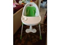 Mama and Papa Childs High Chair