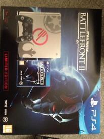 Ps4 1Tb limited edition Star Wars console and ps4 vr with camera and 5 games