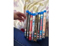 Blu rays for sale