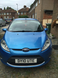 Blue Ford Fiesta 2010, 1.4l only £2,000