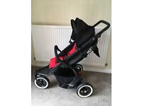 Phil and Teds Dot Pushchair with double seat