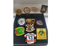 Vintage Rugby League pin badges