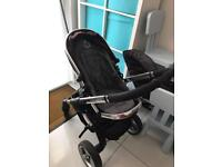Icandy Peach pushchair and carry cot