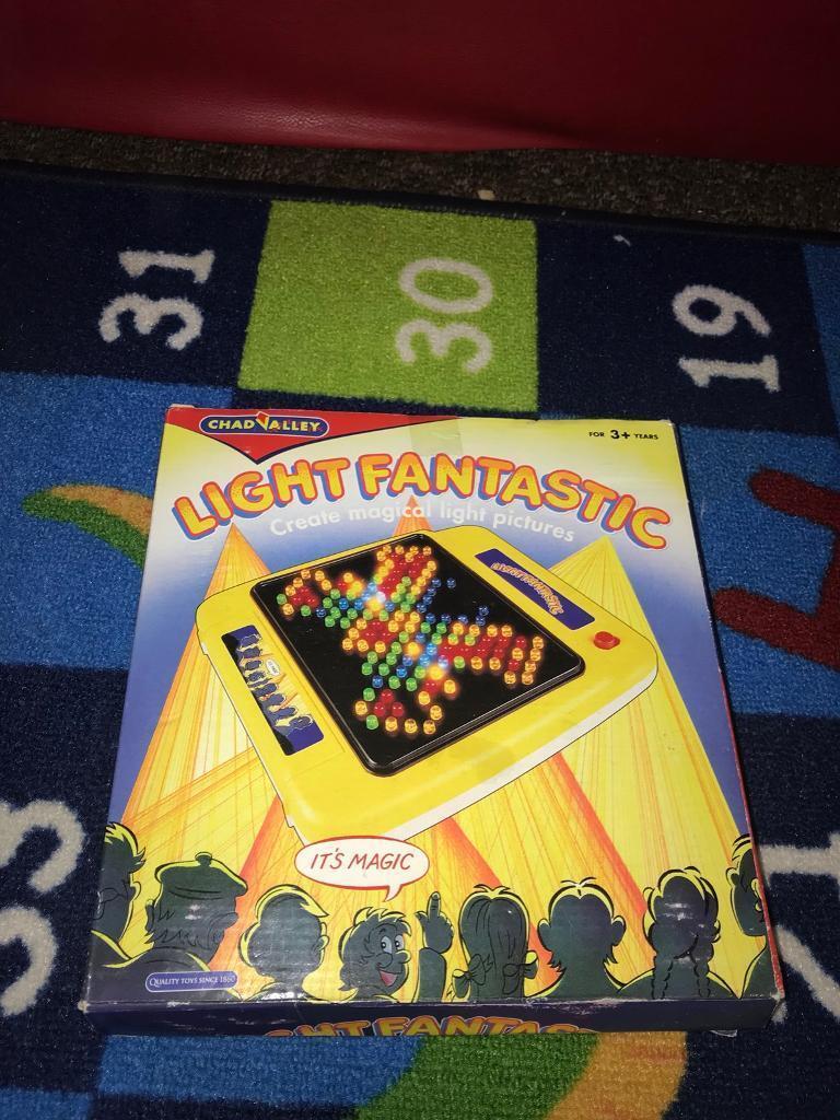 Light Fantastic Activity board