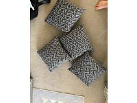 4 NEW oak furniture land cushions