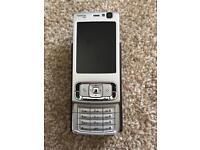 Nokia N95 Silver Phone