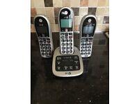 Cordless phones and ansaphone