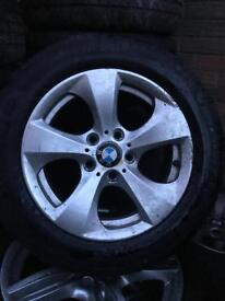 16 INCH BMW ALLOYS WHEELS AND TYRES