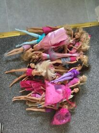 Barbie Dolls and clothes