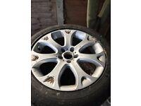 4 x Original BMW alloys X5 E70 6772244 9j x 19 et48 no tyres