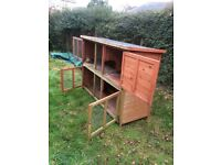 Pets at home two storey rabbit hutch