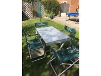 Camping & caravaning table & chairs