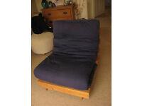 Single Futon Chair Bed