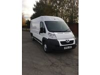 2013 63 Peugeot boxer 435 l4 2.2 hdi xlwb 1 owner from new