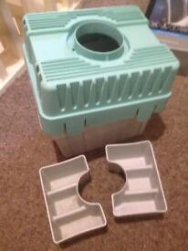 Tumble drier ice box
