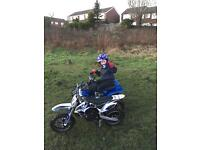 Moto x bike. Electric kids not Ktm pw lt