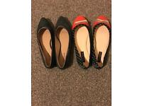 Ladies shoes size 6 and 1/2