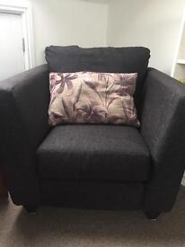 Sweet arm chair with cushion