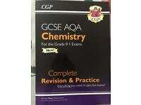 GCSE AQA CGP Chemistry Revision Guide & Workbook
