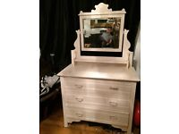 Antique dressing table for sale 50 pound