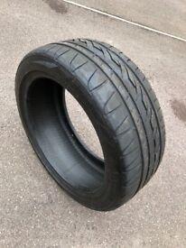 Fire stone run flat tyre, 225/45/R17