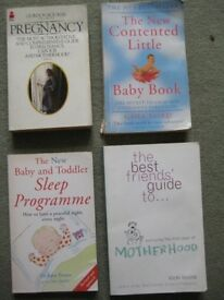 Four New Baby Books - 4 for £5.00