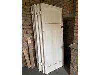 6 1930's original internal doors
