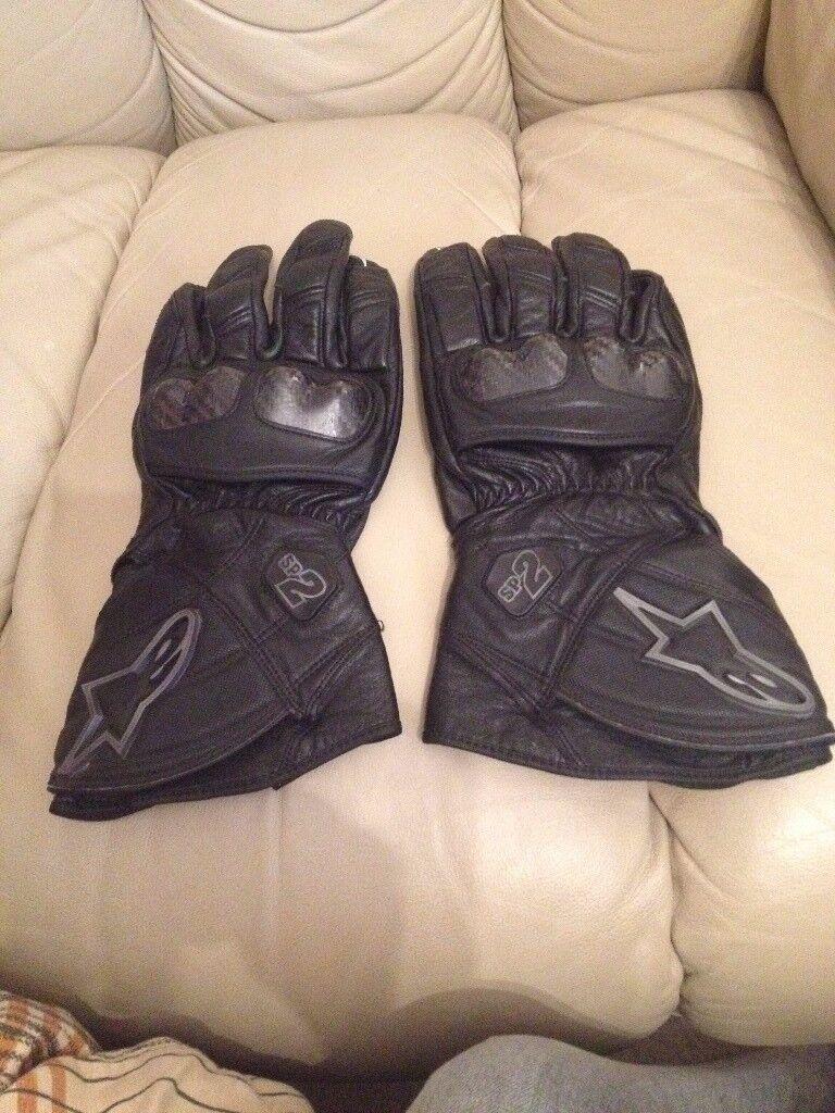 alpinestars gloves excellent condition xxl