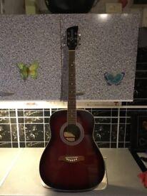 Brunswick acoustic guitar £35 cash