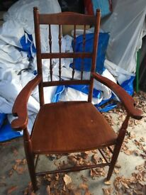 Antic Real Wooden Chair