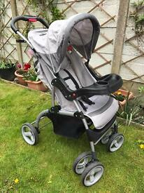 My Child grey/black pushchair/buggy great condition