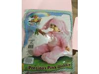Easter pink bunny costume