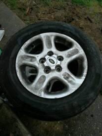 15 inch freelander Alloy wheels