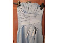 Blue bridesmaid dress size 8 by Mark Lesley