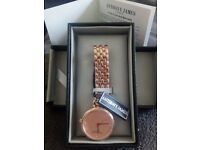 Brand new Anthony James Ladies' Belgravia Rose Gold Watch