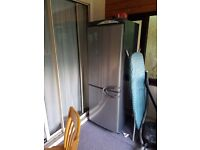 Large fridge freezer frost free needs new light bulb in the fridge can be seen working