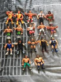WWF hasbro figures 1990's