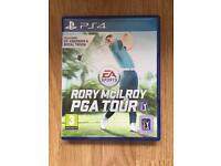 Rory McIlroy PS4 Like New
