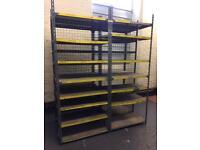 Racking industrial warehouse storage