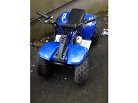 Lt50 quad with pit bike 110 engine