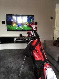 Ben sayers m15 golf set with trolley,